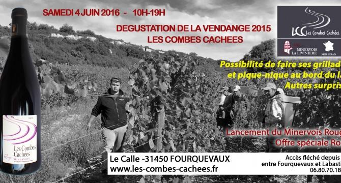 Samedi 04 Juin Dégustation de la vendange 2015, Fourquevaux