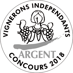 Silver Medal for the 2018 Independent Winegrowers Competition