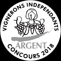 L'Argent au Concours des Vignerons Indépendants 2018