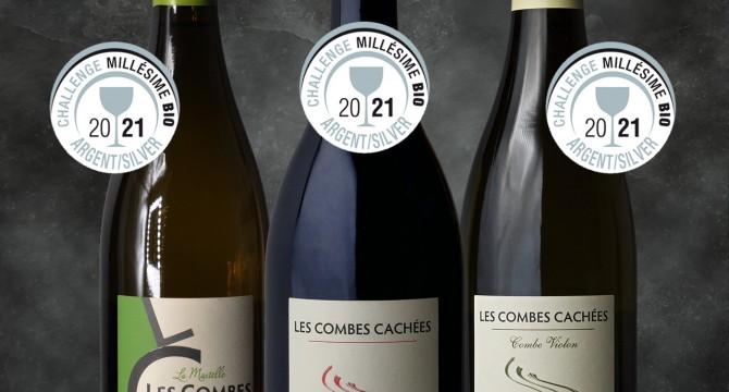 CONCOURS MILLÉSIME BIO 2021 : MOISSON DE MÉDAILLES